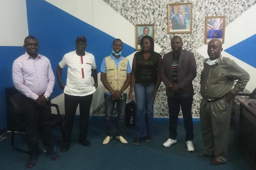 CSO network meets the Liberia WASH commission on FMM prep process