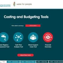 IRC WASH Costing and Budgeting Tools