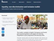 Understanding and addressing equality, non-discrimination and inclusion in water, sanitation and hygiene work