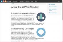 Water Point Data Exchange Standard