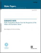 Covershot of World Bank PER Guidance Note PDF