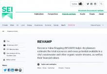 Screenshot of Revamp website