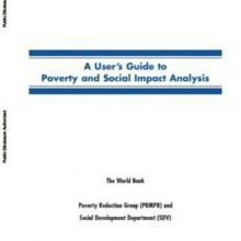 A User's Guide to Poverty and Social Impact Analysis