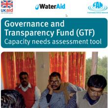 Governance and Transparency Fund Capacity Needs Assessment Tool