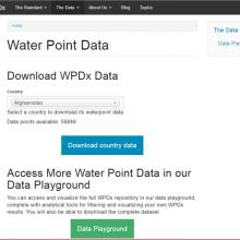 Water Point Data Exchange Global Data Repository