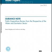Covershot of World Bank PER Guidance Note PDF