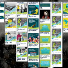 Screenshot of SWA's 10 year celebrating Human Rights to Water and Sanitation Trello board