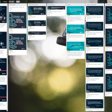 Screenshot of the Call to Action Comms Toolkit Trello board