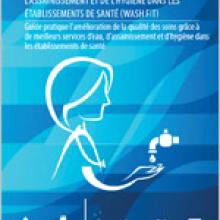 Cover shot of WASH FIT publication in French
